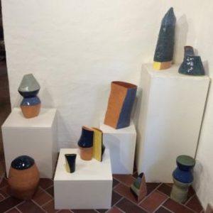 Silke Bergs keramiske objekter