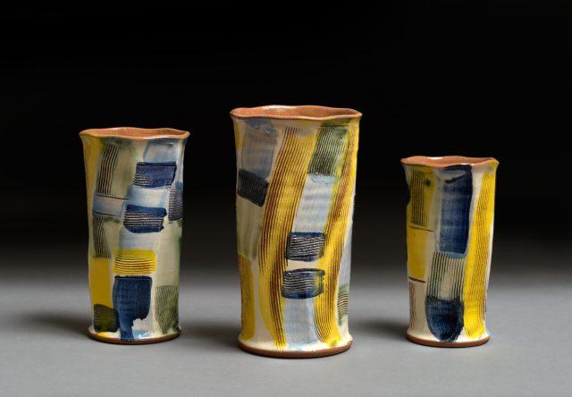 Tre vaser